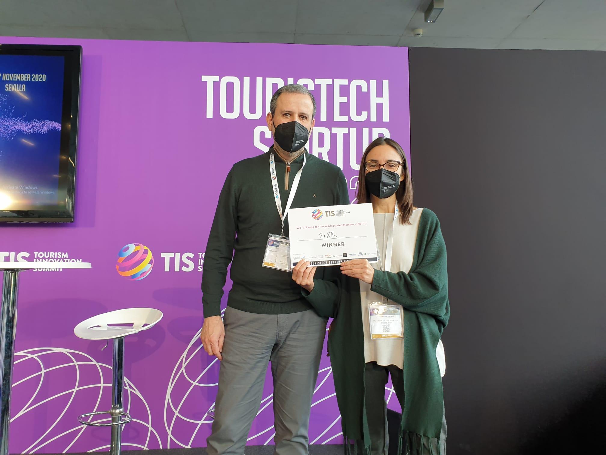 Somos una de las startups premiadas en el Touristech Startup Fest