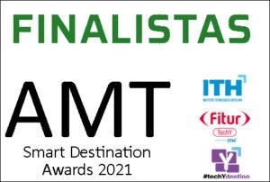 Finalista Smart Destinations Award Fitur 2021