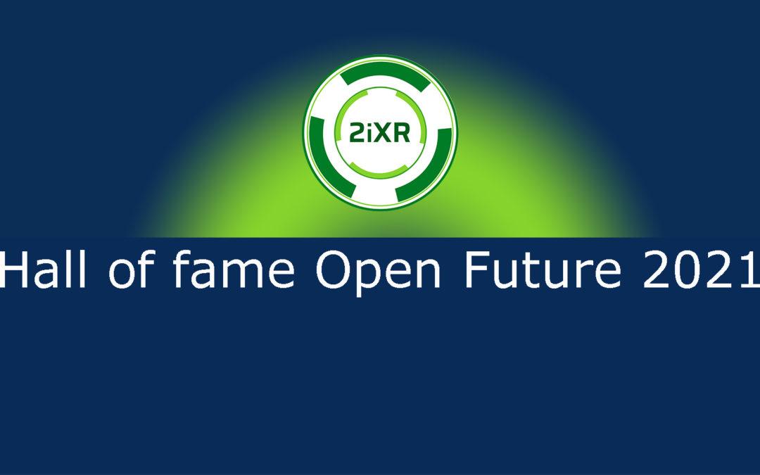 2iXR incluida en el Hall of Fame 2021 de Telefónica Open Future