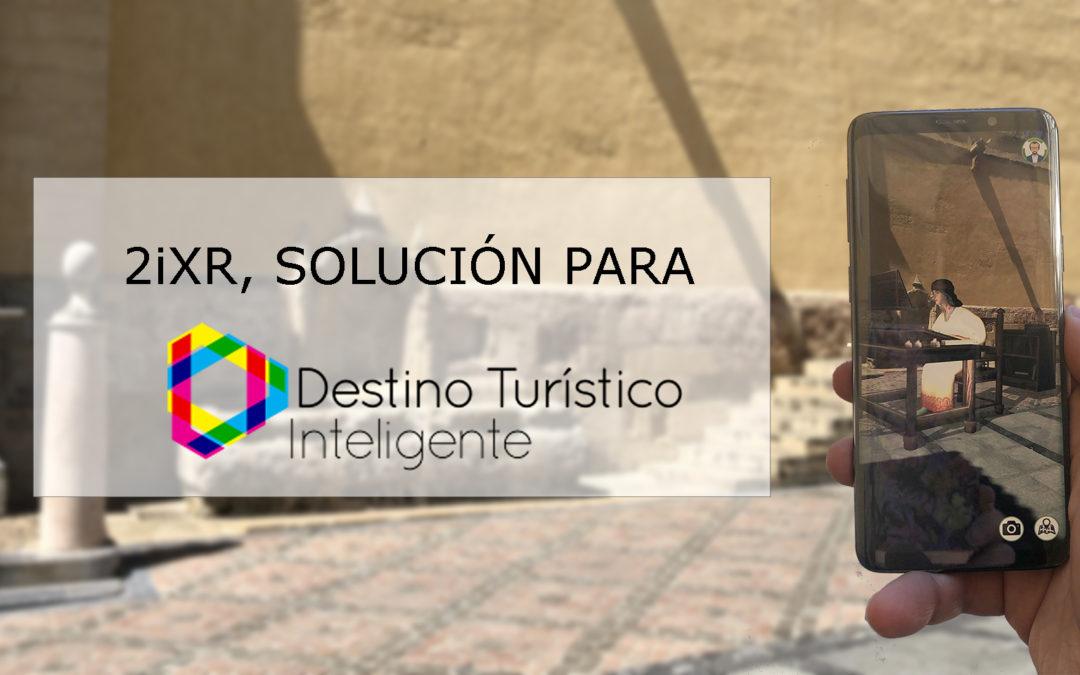 Segittur incluye 2iXR en su directorio de soluciones DTI